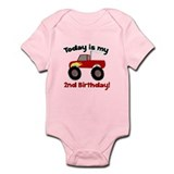 Monster Truck 2nd Birthday Infant Bodysuit