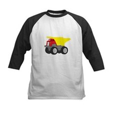 Yellow and Red Dump Truck Construction Vehicle Kid