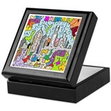 Jewel City Decorative Keepsake Box