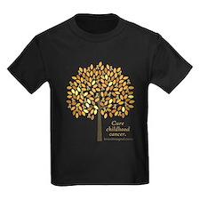 Gold Ribbon Tree T
