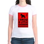 Little German! SCHNAUZER Jr. Ringer T-Shirt
