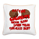 may coco.png Square Canvas Pillow