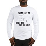 Maxwells Equation Long Sleeve T-Shirt