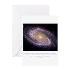 Everything is Conscious Quote Greeting Card