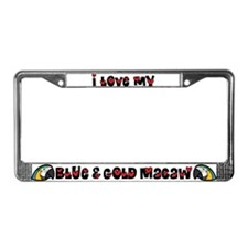 Anime B&G Macaw License Plate Frame