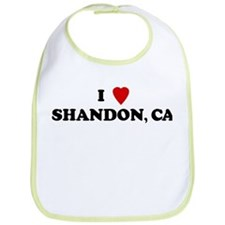 I Love Shandon Bib