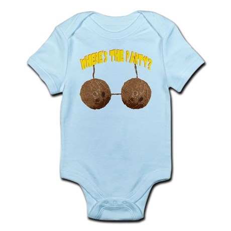 party nuts Infant Bodysuit
