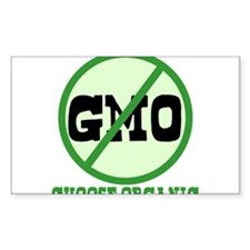 Say No to GMO Bumper Stickers