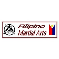 Filipino Martial Arts Bumper Bumper Sticker