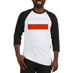 Poland Polish Blank Flag Baseball Jersey