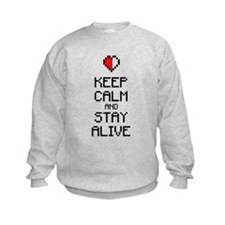 Keep calm stay alive 2c Sweatshirt