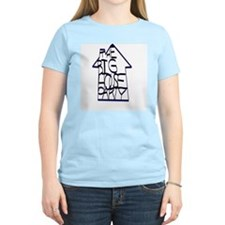 THE BIG HOUSE Women's Pink T-Shirt