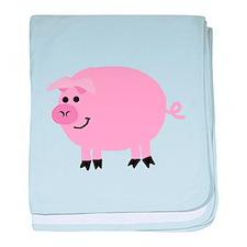 Piggy baby blanket
