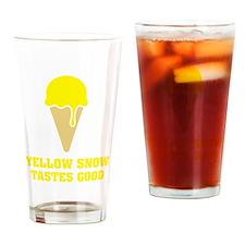 Yellow snow tastes good - Ice Cream No.3 Drinking