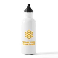 Yellow snow tastes good No.4 Water Bottle