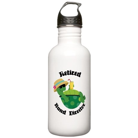 Retired Band Director Gift Stainless Water Bottle
