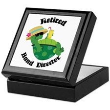 Retired Band Director Gift Keepsake Box