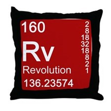 Element of Revolution Throw Pillow
