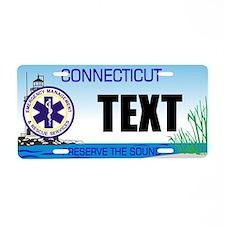 Connecticut EMS Custom License Plate