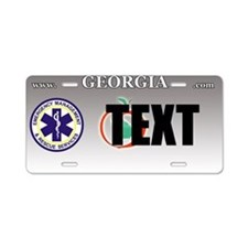 Georgia EMS Custom License Plate