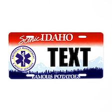 Idaho EMS Custom License Plate