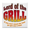 Lord of the Grill Tile Coaster