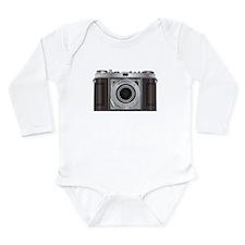 Retro Camera Long Sleeve Infant Bodysuit