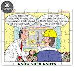 Nuclear KNOTS Puzzle