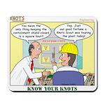 Nuclear KNOTS Mousepad
