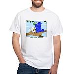 Bird Study White T-Shirt