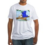 Bird Study Fitted T-Shirt
