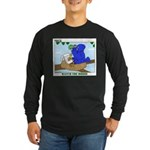 Bird Study Long Sleeve Dark T-Shirt