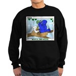 Bird Study Sweatshirt (dark)