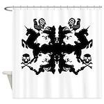 Beau Rorshach Shower Curtain