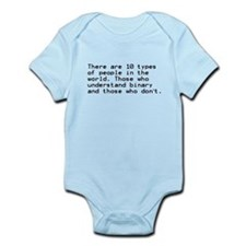 Funny, Binary Infant Bodysuit