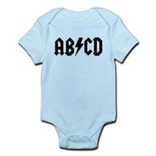 ABCD Infant Bodysuit