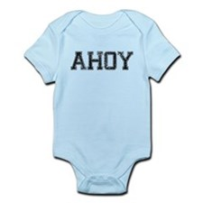 AHOY, Vintage Infant Bodysuit