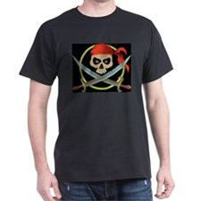 Pirate Black T-Shirt