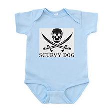 Scurvy Dog Infant Creeper