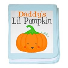 Daddys Little Pumpkin baby blanket