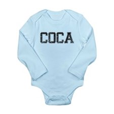 COCA, Vintage Long Sleeve Infant Bodysuit