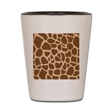 Giraffe Animal Print Shot Glass