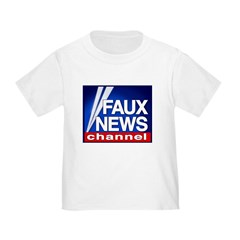 Faux News Channel - Toddler T-Shirt