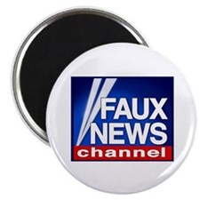 Faux News Channel - Magnet