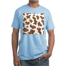 Brown Cow Animal Print Shirt