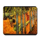 Alyscamps by Vincent Van Gogh Mousepad