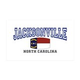 Jacksonville, North Carolina Wall Decal