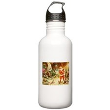 Santa in the North Pol Water Bottle