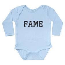 FAME, Vintage Long Sleeve Infant Bodysuit