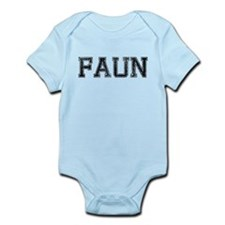 FAUN, Vintage Infant Bodysuit